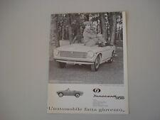 advertising Pubblicità 1962 INNOCENTI 950