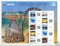 UNITED NATIONS WIPA 08 EXHIBITION PERSONALIZED SHEET