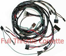 1964 1965 Corvette Small Block Engine Wiring Harness with OE A/C