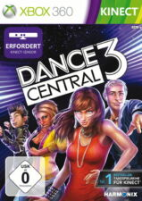 KINECT Dance Central 3, 1 Xbox360-DVD