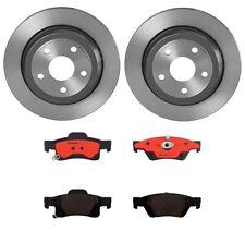 Brembo Rear HD Brake Kit Disc Rotors and Ceramic Pads For Durango Grand Cherokee