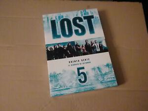 DVD-SERIE TV-LOST-QUINTA SERIE-STAGIONE 5-IL VIAGGIO DI RITORNO-BOX 5 DVD