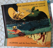 Pop Up Books Sinbad The Sailor & Alibaba both incomplete 1960
