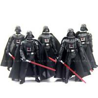 Lot 5PCS Star Wars 2005 Darth Vader Revenge Of The Sith 3.75'' Action Figure Toy