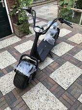 Scooter elettrico Citycoco 1000W omologato per uso stradale EEC COC 33 km/h 20Ah
