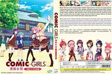 ANIME DVD~Comic Girls(1-12End)English subtitle&All region FREE SHIPPING+GIFT