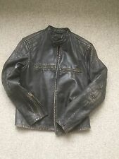 Ralph Lauren RRL Caferacer Leather Biker Jacket Size M **SOLD OUT WORLDWIDE**