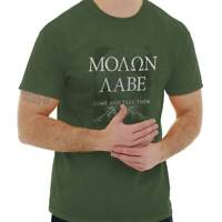Molon Labe USA Come And Take Them 2nd Amendment Bear Arms Classic T Shirt Tee