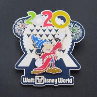 Disney Pin 2020 Walt Disney World SORCERER MICKEY Epcot Spaceship Earth Firework