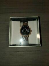 NEW! Fossil Tech Gen 5 Julianna HR Rose Gold Bracelet Smart Watch FTW6035