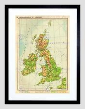 Maps Framed Decorative Posters & Prints