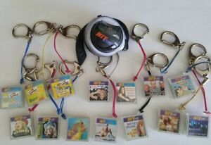 Hit Clips Lot 14 & Tiger Ear Piece: Pink Madonna  Brittany Spears Simpson's, etc