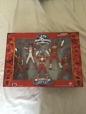 Power Rangers 15th Anniversary Epic Red Rangers Set 1 MMPR