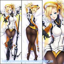 Online Game Overwatch OW Mercy Japan Anime Dakimakura Hugging Body Pillow Case