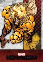 SABRETOOTH / Marvel Beginnings Series 1 BASE Trading Card #62