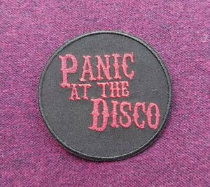 Panic At The Disco Patch Sew / Iron On Music Festival Badge (a)