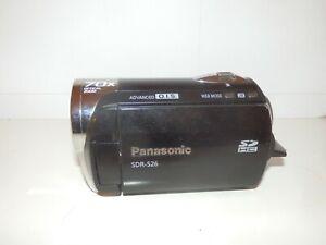 Panasonic video camera SDR S26 70X Optical zoom