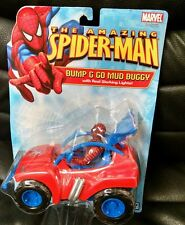 The Amazing Spider-man Bump & Go Mud Buggy, 2005, MOC!  Toy Biz, Marvel