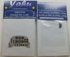 Yahu Modelos yma7229 1/72 PE Heinkel él 112b Panel De Instrumentos