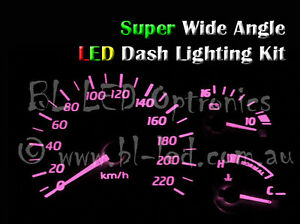 Pink T10 12V LED Dash Cluster Light kit Fits Mazda Miata Mx-5 Mx5 NA NB