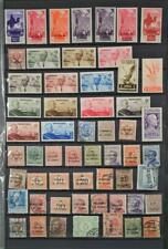 ITALIAN COLONIES ITALY STAMPS SELECTION ON 2 SIDES OF STOCK CARD  (D1)