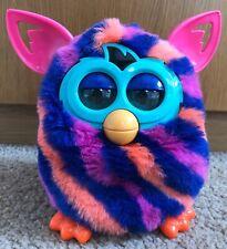 Hasbro 2012 Furby Boom Interactive Toy - Pink, Blue & Orange Stripes