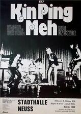 KIN PING MEH - 1974 - Plakat - Dynamite Rock Rolls - Tourposter - Neuss