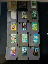 Nes/n64/snes game lot 24 games (NOT TESTED!) Make offer!
