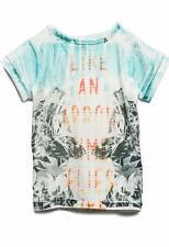 - 50% Replay cooles T-Shirt~Gr. 6Y/116~bunt bedruckt~So 2016~Neu~NP 45,95 €
