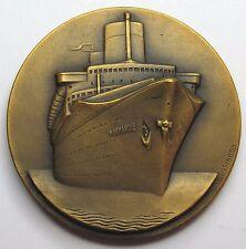 """Compagnie Générale Transatlantique """"NORMANDIE"""" - 1935 - par Delannoy"""