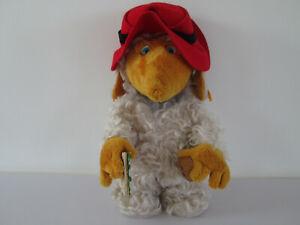"RARE STEIFF BEAR ORINOCO WOMBLE TOY 661679 12.75"" TALL GOLD EAR BUTTON"