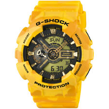 Casio G-Shock Watch, GA-110CM-9AER, Yellow Case, World Time, Alarm, Stopwatch