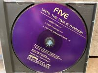 Until The Time Is Through by Five (CD, PROMO Single)