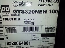 State Gts-320-Neh Outdoor Tankless High Efficiency Ng Water Heater -Ships Free