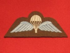 BRITISH ARMY PARA TRAINED PARACHUTE WINGS BADGE LIGHT BLUE BRAND NEW