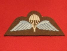 BRITISH ARMY PARA WINGS TRAINED PARACHUTE WINGS BADGE LIGHT BLUE BRAND NEW