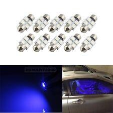 10PCS Extra Blue 31mm 4SMD LED bulbs - Interior Dome DE3175 DE3022 3021 6428
