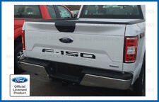 2018 Ford F150 Tailgate Insert Decals Letters Indent Stickers - MATTE BLACK