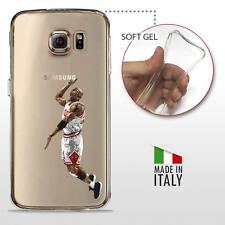 Samsung Galaxy S6 TPU COVER PROTETTIVA GEL TRASPARENTE NBA Basket MJ Jordan