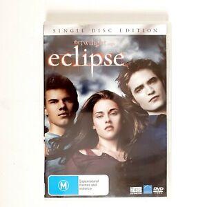 Twilight Eclipse Movie DVD Region 4 AUS Free Postage - Drama Teen Romance