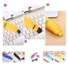 Mini Vacuum Cleaner Portable USB Computer Keyboard Dust Handheld Kit Brush S5B9