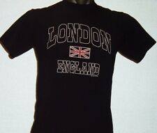 LONDON ENGLAND - Union Jack -  Large  (L) tagged T-shirt