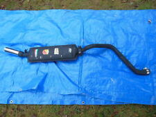 NOS Abarth Muffler and Pipe W/ Chrome Tip Volkswagen Early Rabbit Golf Scirocco
