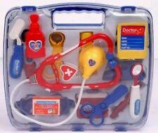 Kids Children Role Play Doctor Nurses Toy Medical Set Kit Gift Hard Carry Case