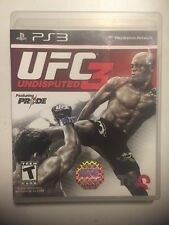 UFC Undisputed 3 (Sony PlayStation 3, 2012) Fast Free Shipping & Sealed