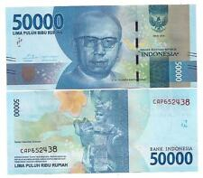 INDONESIEN INDONESIA 50000 50.000 RUPIAH 2016 (2017) UNC P NEW