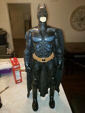 "Large Batman Action Figure Toy Doll 32"" Dark Night Rises Jakks DC Comics"