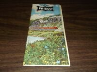 JUNE 1962 SLSF FRISCO SYSTEM PUBLIC TIMETABLE