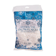 Fake Snow Artificial Snowflakes 2 Oz. Bag Christmas Decor Party Decoration 60g