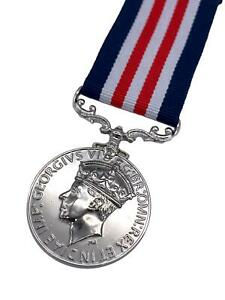 Replica Military Medal (MM) GRVI Variant, British Forces, Copy/Reproduction